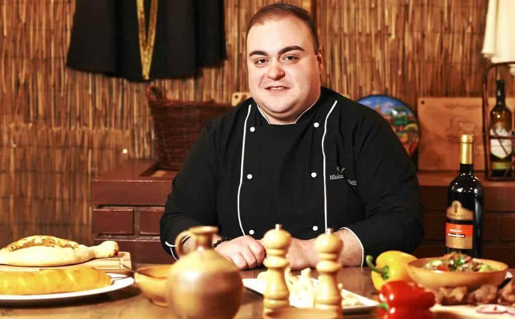 šef kuchař restaurace kakheti